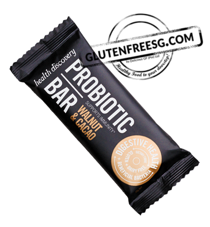 Health Discovery Walnut & Cacao Probiotic Bar (40g)