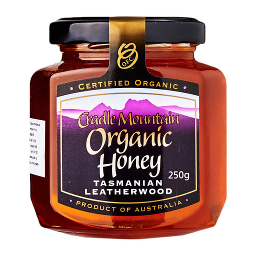 Cradle Mountain Organic Tasmania Leatherwood Honey