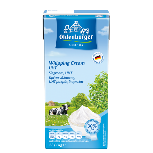 Oldenburger Whipping Cream 30% Fat - 1LTR