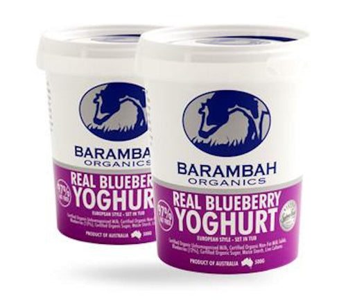 Real Blueberry Yoghurt 200g