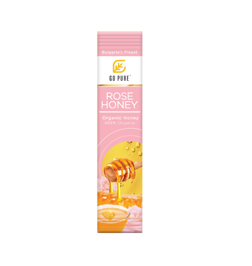 GP Organic Rose Honey 30 Sachets