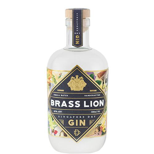 BRASS LION GIN SINGAPORE DRY 500ML