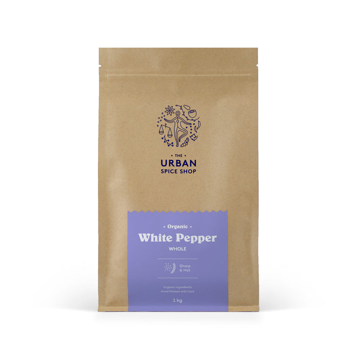 Organic White Pepper Whole