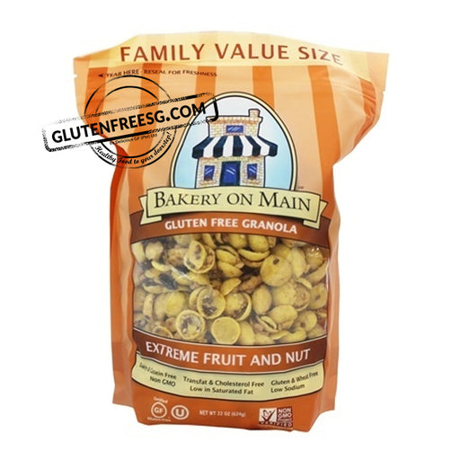 Bakery on Main Extreme Fruit & Nut Granola Family Size (624g)