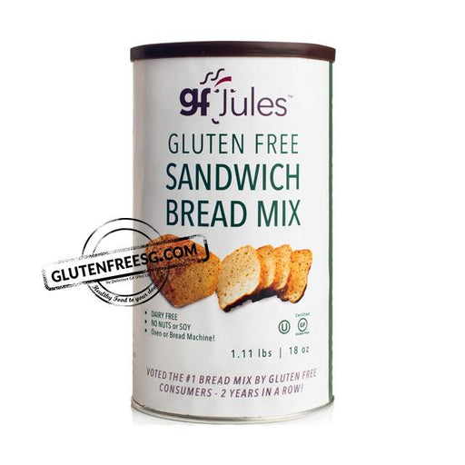 gfJules Gluten Free Sandwich Bread Mix (18oz)