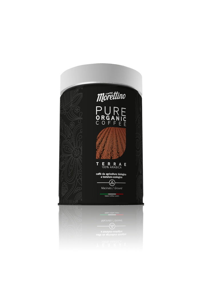 Terrae 100% Arabica Organic Ground Coffee tin