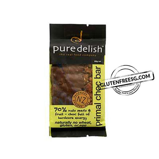 Pure Delish Primal Chocolate Bar (68g)