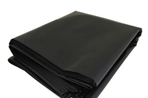 "Black Trash Bag - 19"" x 19"" x 0.018mm"