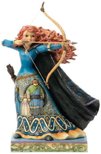 "Disney Traditions by Jim Shore Princess Merida from ""Brave"" Stone Resin Figurine, 10.125"""