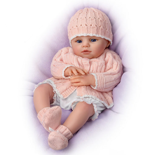 Abby Rose So Truly Real® Award-Winning Lifelike, Realistic Newborn Baby Doll 18-inches by The Ashton-Drake Galleries