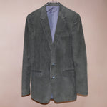 GREEN RIBED SET (JACKET AND PANT)