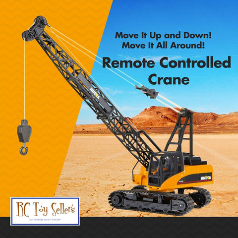 Image of Crane 1572 - HuINa Remote Controlled - RC Toy Sellers - HuIna