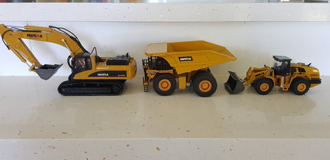 Image of Die-Cast Excavator 1910 STATIC - RC Toy Sellers - HuIna