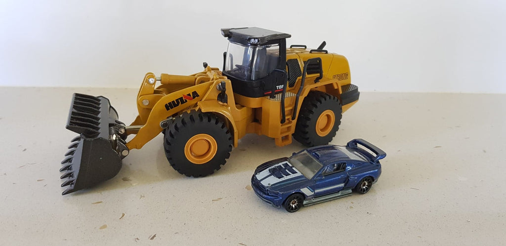 Static Full Die Cast Bulldozer, Dump Truck and Excavator HuINa Package - RC Toy Sellers - HuIna