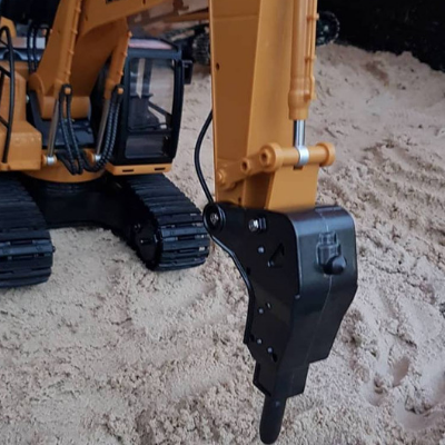 Image of Excavator Drill Attachment - HuINa Remote Controlled 1560 - RC Toy Sellers - HuIna