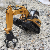 Excavator Ball Grab Attachment - HuI Na  Remote Controlled 1571