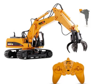 Excavator 1560 Ball Grab + Drill Attachment 1560-1571 - RC Toy Sellers - HuIna