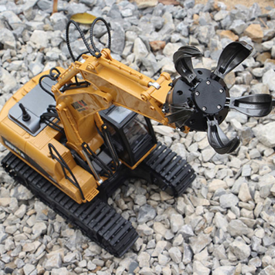 Image of Excavator 1560 Ball Grab + Drill Attachment 1560-1571 - RC Toy Sellers - HuIna