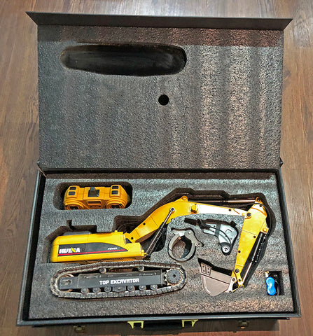Image of HuIna 1580 Full Metal Die Cast RC Excavator - RCToysellers