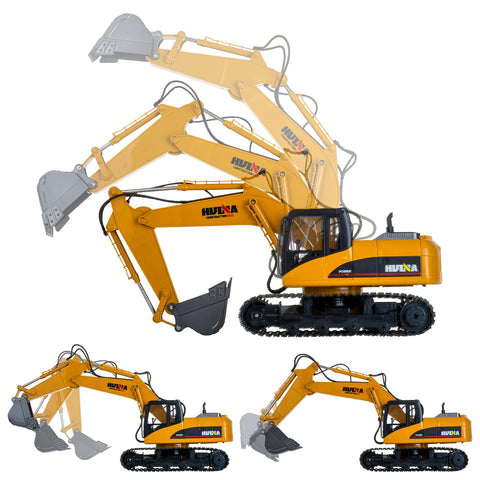 Image of Excavator 1550 - HuINa Remote Controlled