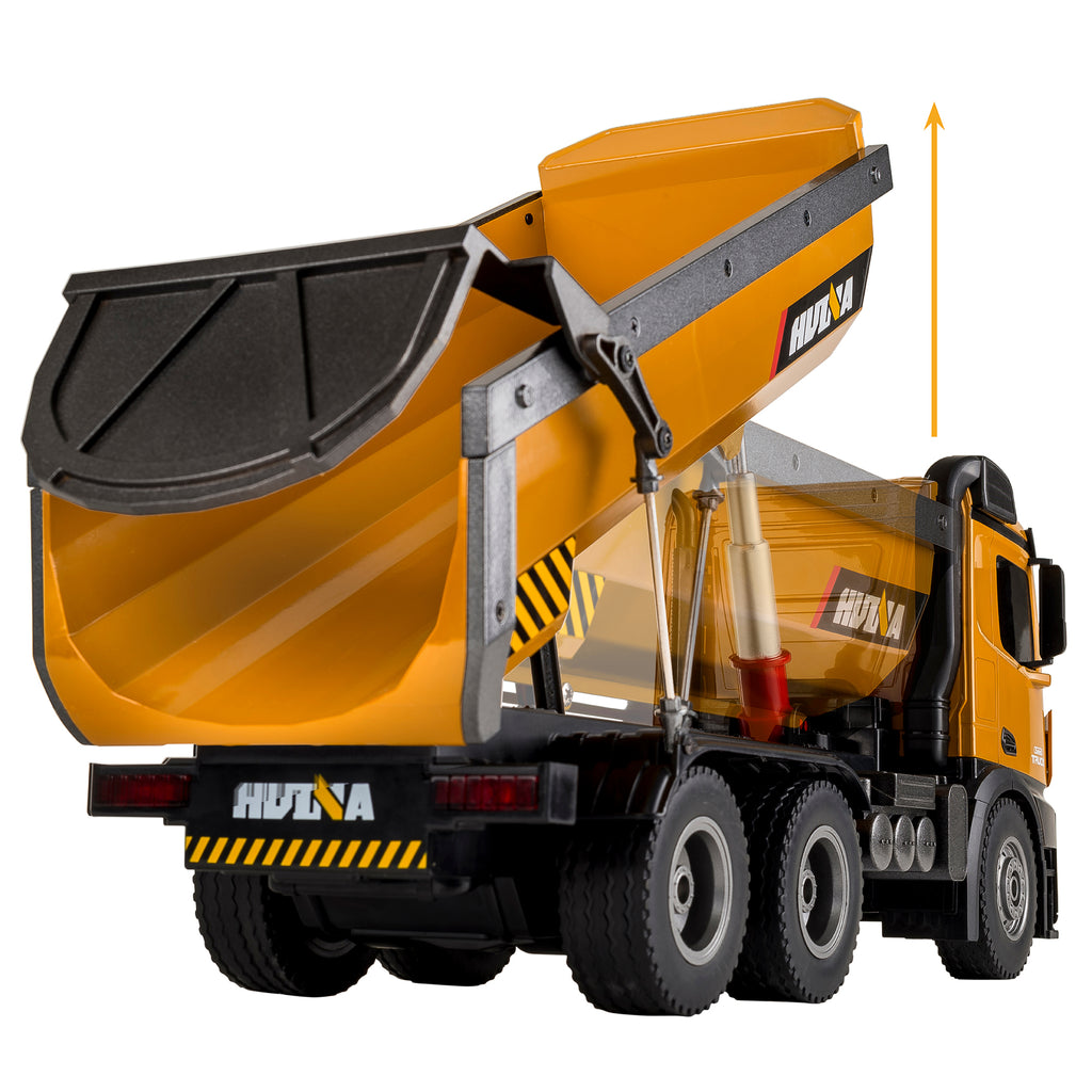 Cement Mixer 1574 & Dump Truck 1573 HuINa Package