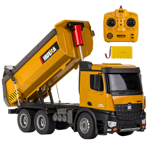 Image of Cement Mixer 1574 & Dump Truck 1573 HuINa Package