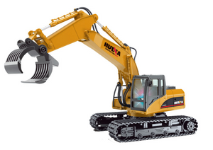 Excavator Timber Grab - HuINa Remote Controlled 1570