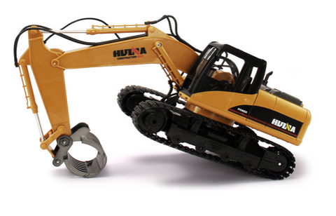 Image of 1570 Excavator Timber Grab Attachment - RCToysellers
