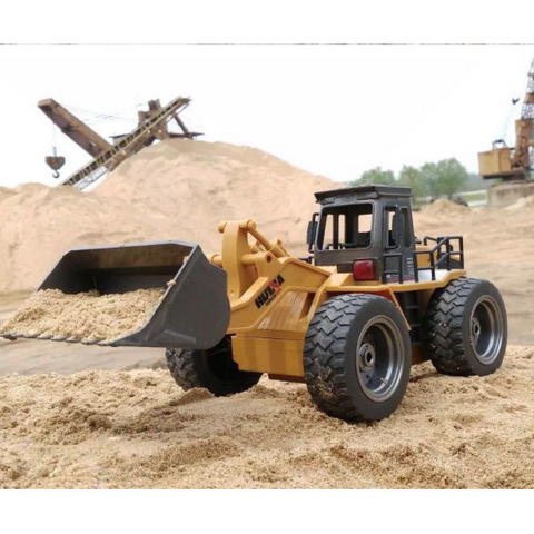 Image of 1520 - RC Bulldozer/Front End Loader - RC Toy Sellers