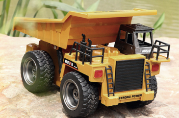 Image of Dump Truck - HuINa  Remote Controlled 1540 - RC Toy Sellers - HuIna