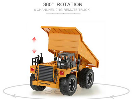 Dump Truck - HuI Na  Remote Controlled 1540 - RC Toy Sellers - HuIna