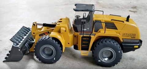 Image of Wheeled Loader Metal Remote Controlled HuINa 1583 - RC Toy Sellers - HuIna