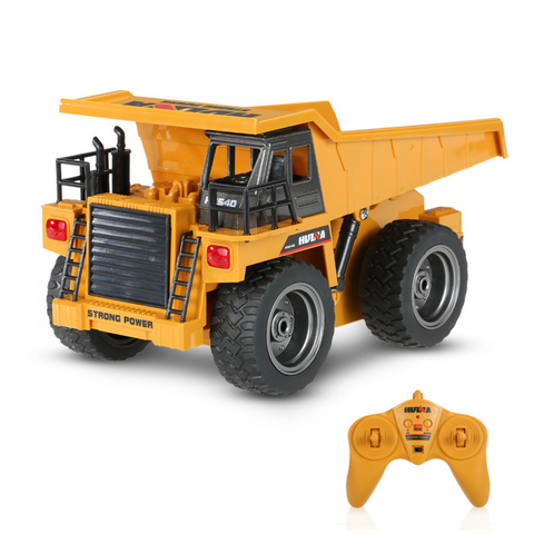 Image of Dump Truck - HuINa  Remote Controlled 1540