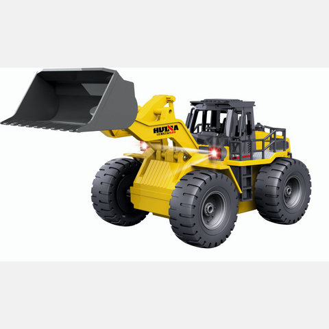 Image of Bulldozer / Front End Loader - HuINa Remote Controlled 1520