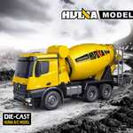 Cement Mixer 1574 & Dump Truck 1573 HuINa Package - RC Toy Sellers