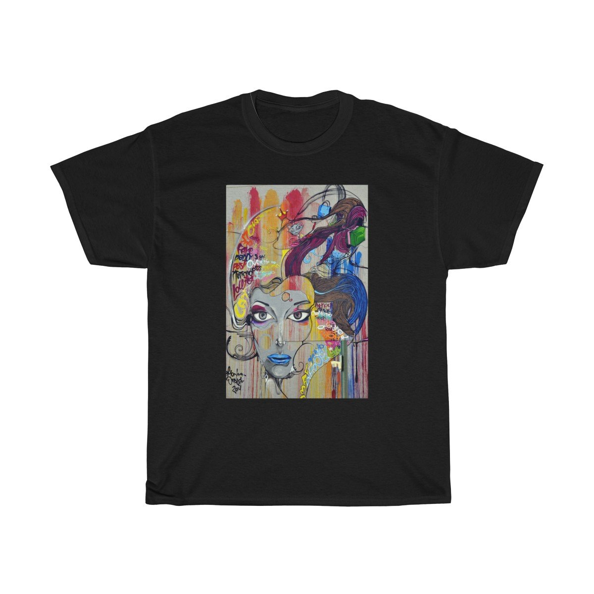 "T-Shirt ""Painted Woman"""