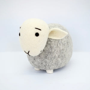 Light Grey Sheep (White Head)