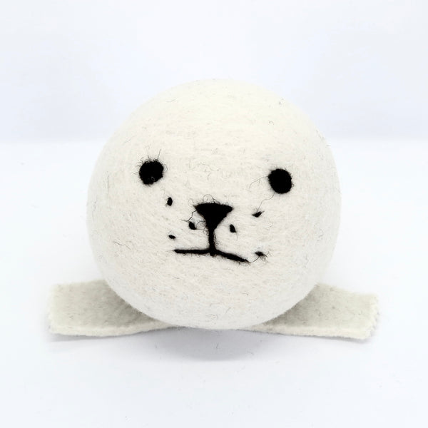 Natural White Wool Seal
