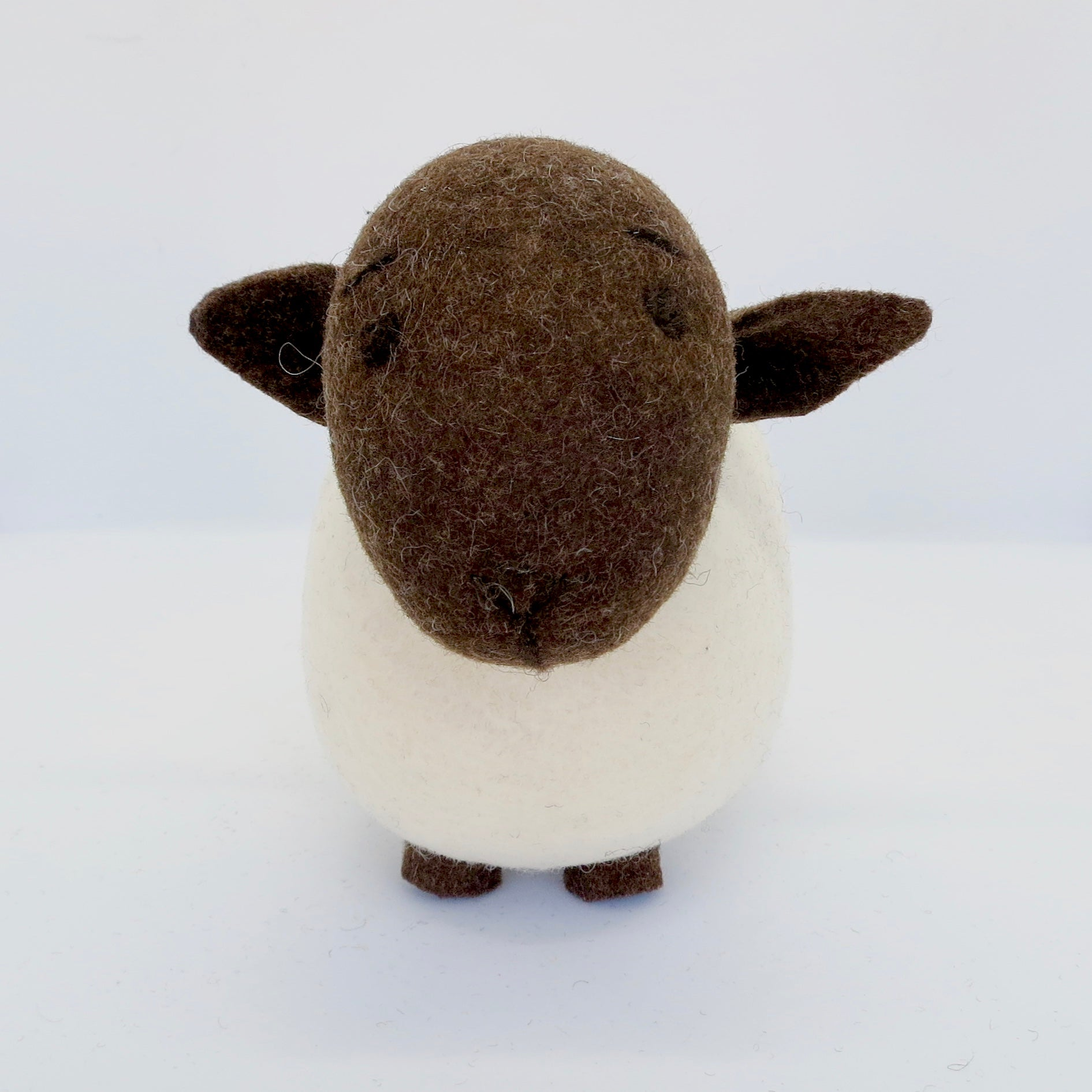 White Sheep (Brown Head)