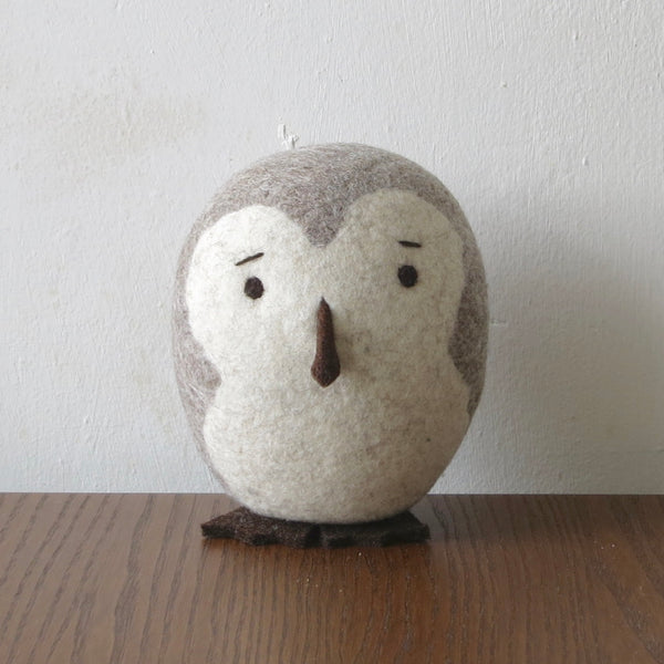 Natural Wool Barn Owl