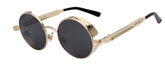 Alloza Gold Black Sunglasses