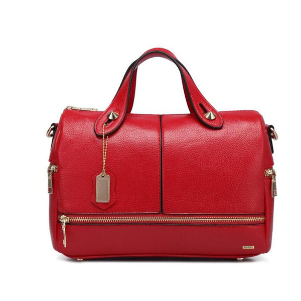 Designer Red Sac Handbag