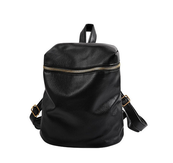 Preppy Rucksack Black Backpack