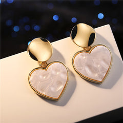 Fashion Drop Heart Earring