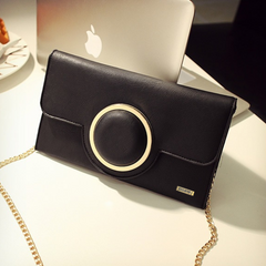Envelope Messenger Black Bag