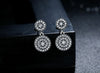 925 Sterling Silver Ancient Crystal Earring