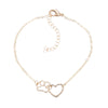 Dog Heart Gold Bracelet