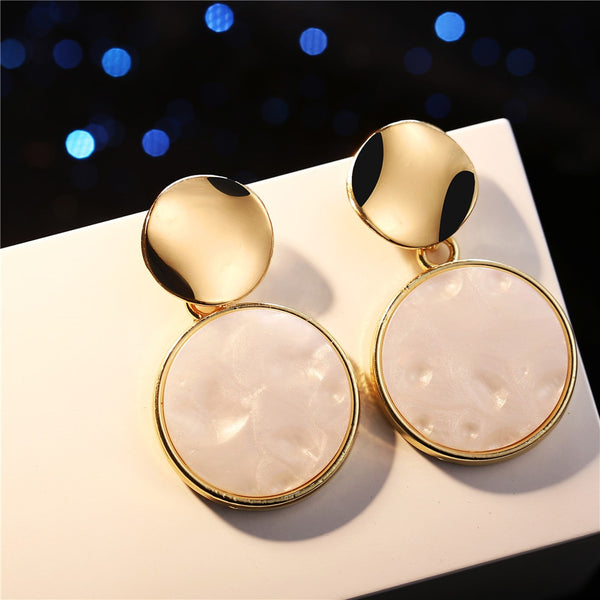 Fashion Drop Circle Earring