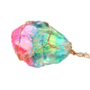Chakra Rock Rainbow Pendant Necklace
