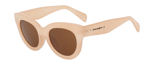 Savanah Beach Brown Sunglass